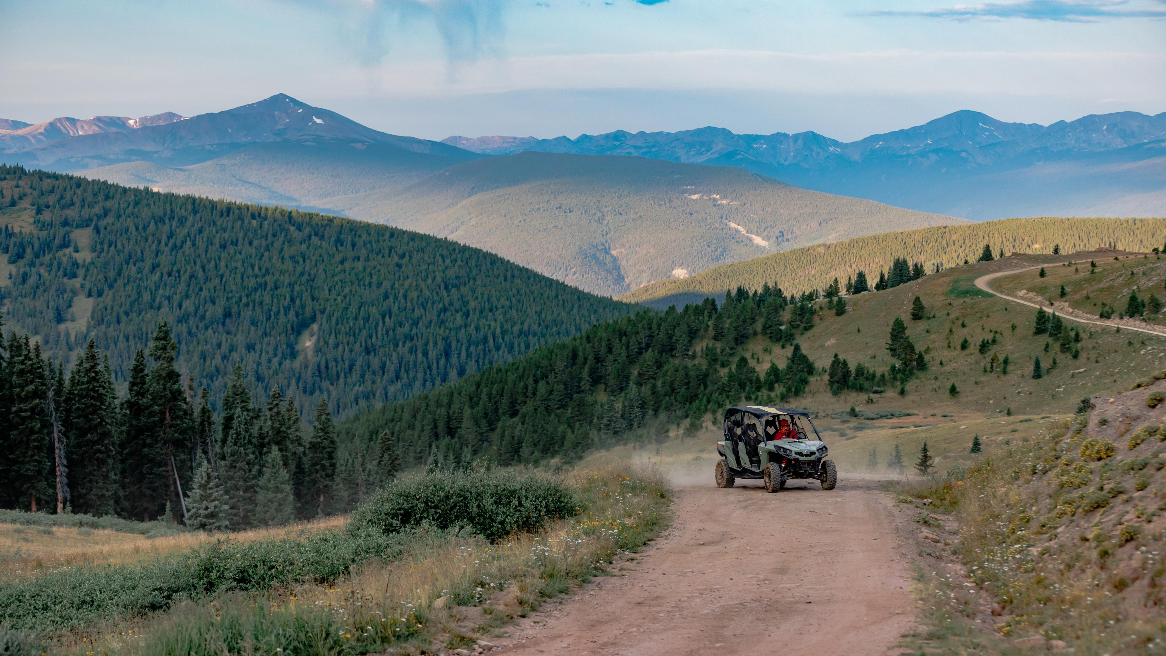 SSV ride in the mountains of Colorado